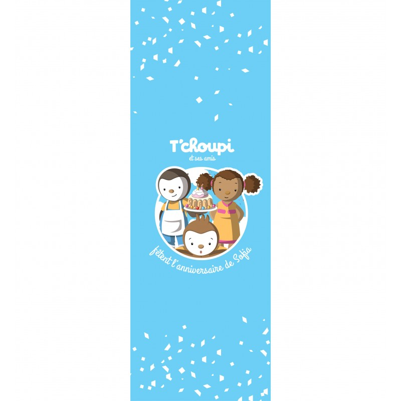Pack Tchoupi Personnalise