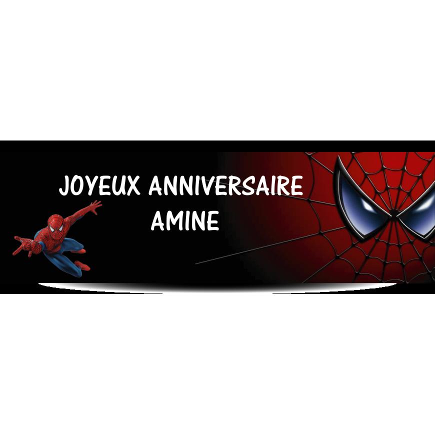 Banderole spiderman