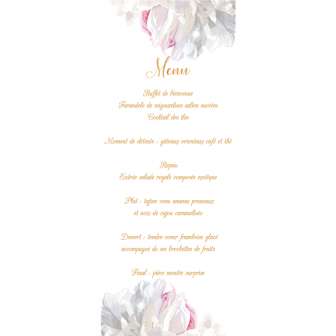 Menu Collection Pivoines