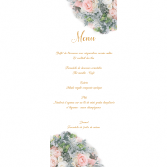 Menu Collection Bouquet