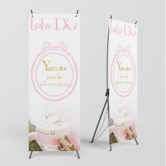 Bannière baby dior