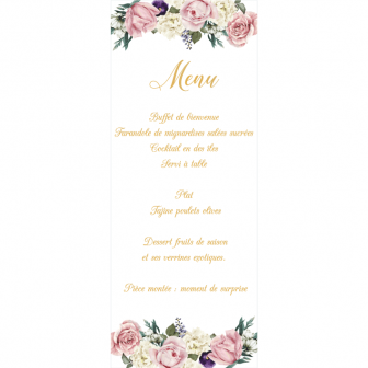 Menu Beautiful