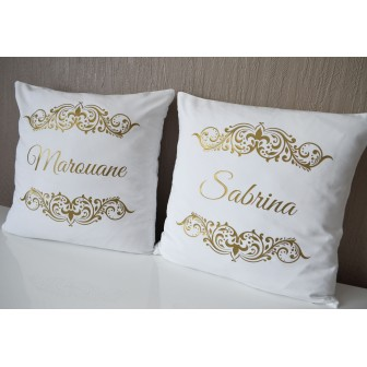 Lot de 2 Coussins Gold