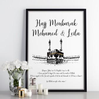 Affiche personnalisé Hajj