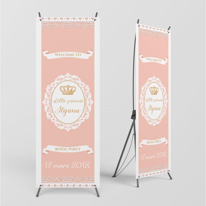 Bannière de Bienvenue Collection Princesse