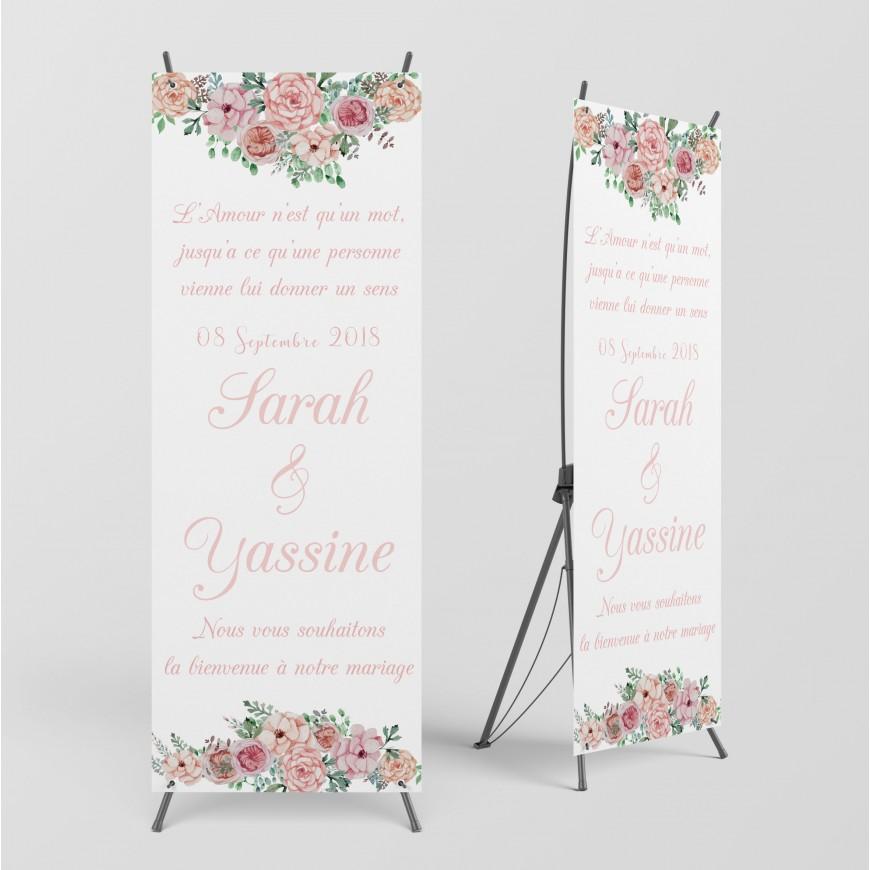 Bannière de Bienvenue Collection Flowers