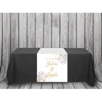 Chemin de table Collection Pivoines