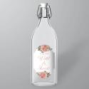 Pour bouteilles en verre